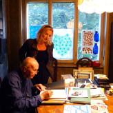 Intervista con  Mario De Biasi  nel suo studio di Milano
